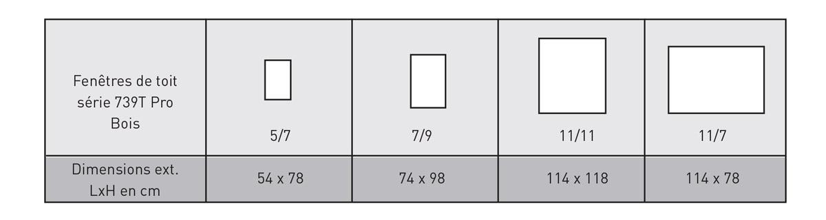 Fen tre de toit chez soretole la r union for Dimension fenetre de toit standard